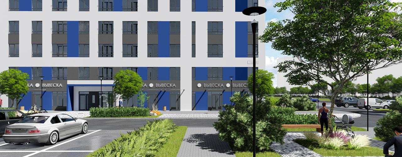 Жилой комплекс Высший пилотаж в Гатчине - территория смысла. Комфортная современная недвижимость по низкой цене бюджетного жилья. Вид 5