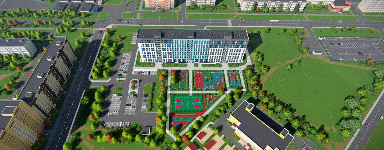Жилой комплекс Высший пилотаж в Гатчине - территория смысла. Комфортная современная недвижимость по низкой цене бюджетного жилья. Вид 10