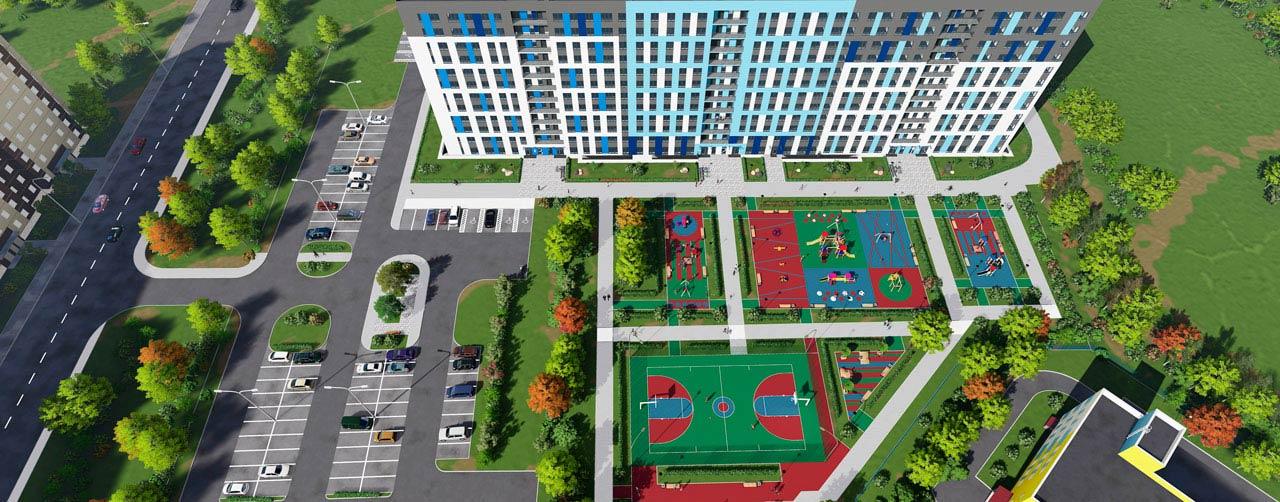 Жилой комплекс Высший пилотаж в Гатчине - территория смысла. Комфортная современная недвижимость по низкой цене бюджетного жилья. Вид 11
