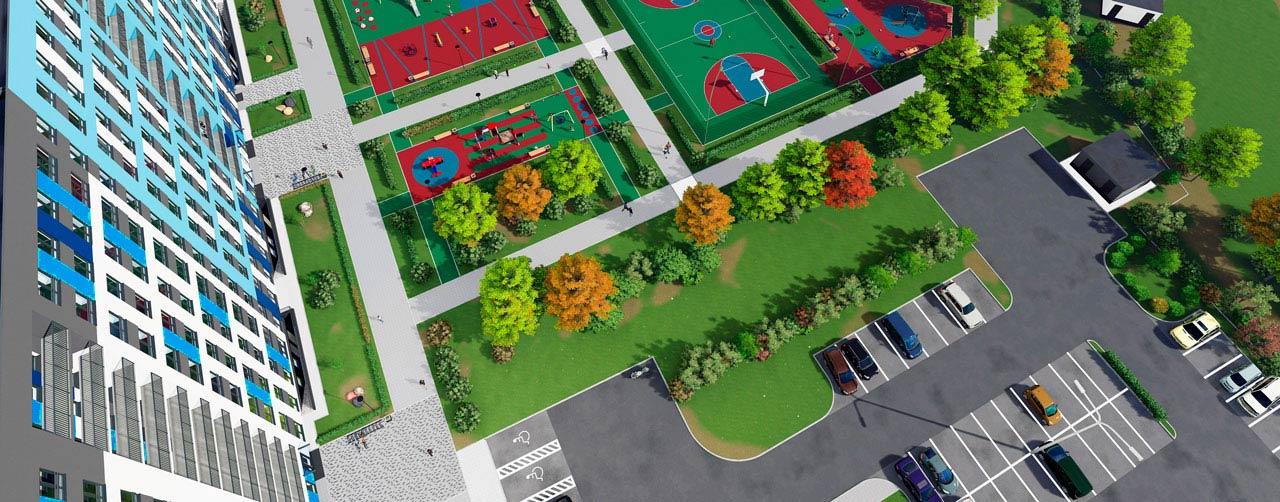 Жилой комплекс Высший пилотаж в Гатчине - территория смысла. Комфортная современная недвижимость по низкой цене бюджетного жилья. Вид 12